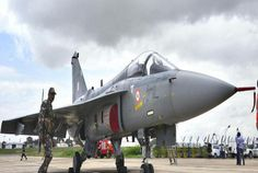 India's fighter jet Tejas finally on skies The first indigenously built 4th generation & Light Combat Aircraft (LCA) Tejas has been handed over to Indian Airforce (IAF) by Hindustan Aeronautics Ltd (HAL) and Aeronautical Development Agency (ADA) Read more from #Bizbilla http://www.bizbilla.com/hotnews/India-s-fighter-jet-Tejas-finally-on-skies-4636.html