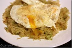 Vegetarian Paleo Meals: Eggs and Cabbage