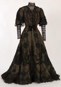 Dress, 1890-1910  From IMATEX