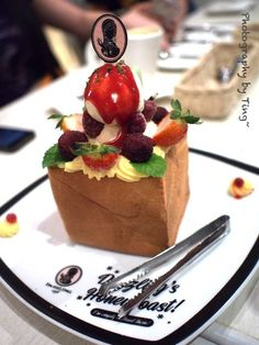 Honey Toast by Dazzling Cafe,Taipei