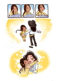 Blanket Reunites With Michael :`{