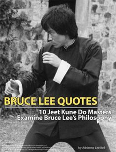 Bruce Lee Jeet Kune Do Quotes 1000+ images about Mar...