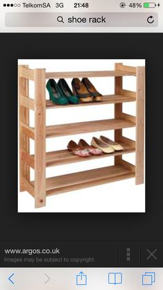 Shoe rack for my everyday runs I need it