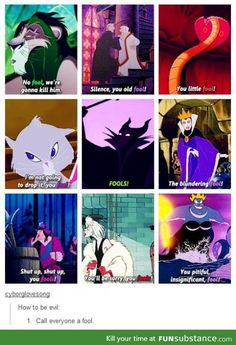 The Complete Idiot's Guide to Being a Disney Villain