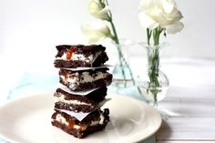Brownie and Salted Caramel Ice Cream Sandwiches | Yummy Mummy Kitchen | A Vibrant Vegetarian Blog