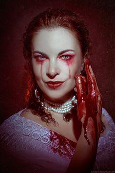 Blood on Lace, Elizabeth Bathory by Ashitaro.deviantart.com on @DeviantArt