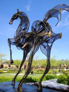 Steampunk Tendencies | Sculpterra Winery and Sculpture Garden, Paso Robles, CA (Jim G)