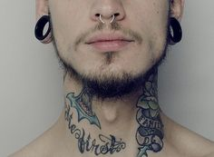 25 Cool Neck Tattoos and Ideas For Men