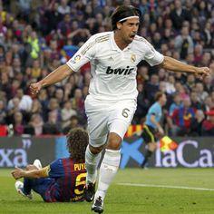 Khedira scores against Barça - 21 Abril 2012