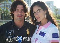 Miami Beach Polo World Cup - Nacho Figueras & Paula Chermont (Miami Beach, Florida)