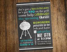bbq baby shower invitations | bbq baby shower invitation printable custom by katesprintables