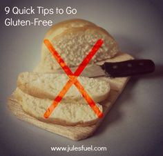 So! We left off last week with 5 reasons for going gluten-free, and the previous discussed the basics of gluten. Today's post will cover the...