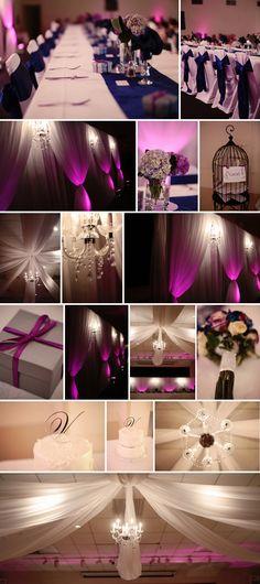 ©Eternal Reflections Photography     Luxury Edmonton & International Wedding photography    Purple luxury wedding