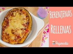 Easy recipes and homemade cooking for the whole family. Eggplant Rollatini Recipe, Bechamel, Spaghetti Squash, Sin Gluten, Deli, Easy Meals, Food And Drink, Veggies, Healthy Eating