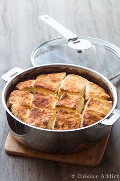 Irish Beef Stew with Cheese Biscuits {Ragout de boeuf & Petits pains au Parmesan} Parmesan, Irish Beef, Cheese Biscuits, Stew, Pork, Meat, Desserts, Irish Kitchen Design, Chuck Steak