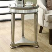 Found it at Wayfair - Monarch Specialties Inc. Mirrored End Table