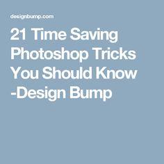 21 Time Saving Photoshop Tricks You Should Know -Design Bump