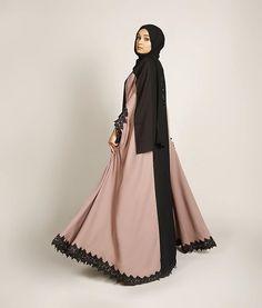 DUSK FLARE ABAYA   Limited stock  Shop at www.missabaya.com  #missabaya #abaya #abayah #pictureoftheday #ootd #fashion #hijab #black #fashionista #garland #wiwt #mondaymotivation #vibes #hijabfashion #hijab #muslim #islam #islamic #springsummer #spring #summer #abaya #photography #photoshoot #photooftheday #lace #border #fabric #black #beads #kimono #pink #fridaymood