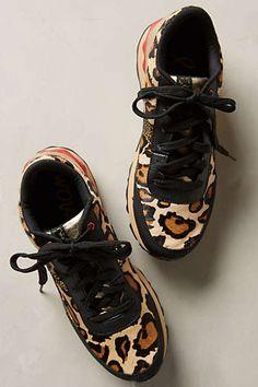 Sam Edelman Nude Dax Sneakers #anthroregistry