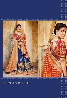 Lehenga Choli - Page 1 Indian Wedding Outfits, Indian Outfits, Marriage Poses, Indian Colours, Indian Bridal Lehenga, Party Wear Lehenga, Silk Lehenga, Indian Wear, Women Wear