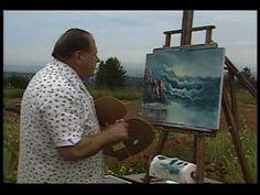 Bill Alexander paints a wonderful seascape part 3/3 oil painting art