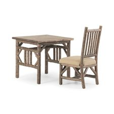 Rustic Custom Table and Rustic Side Chair #1204 by La Lune Collection