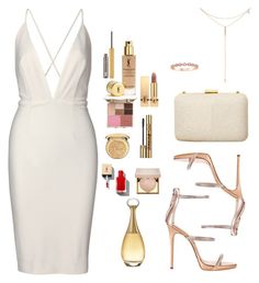 """""""WHT"""" by alessa ❤ liked on Polyvore featuring Giuseppe Zanotti, Tacori, Christian Dior, Stila, Yves Saint Laurent and Urban Decay"""