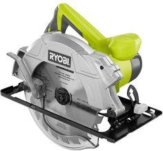 Ryobi 14-Amp 7-1/4 in. Corded Electric Circular Saw Power Tool with Laser Guide #Ryobi