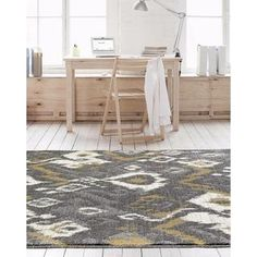 Shop for Beverly Collection Persian Grey Abstract Area Rug (7'10 x 10'6). Get free shipping at Overstock.com - Your Online Home Decor Outlet Store! Get 5% in rewards with Club O!