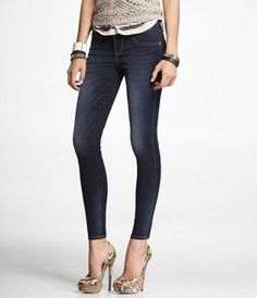 MIA EXTREME STRETCH JEAN LEGGING at Express