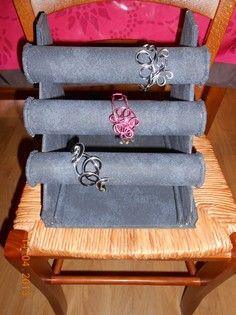 R aliser un pr sentoir boucles d 39 oreilles rapidement - Faire des bijoux a la maison ...