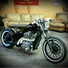 Honda Shadow | Bobber Inspiration - Bobbers and Custom Motorcycles July 2014