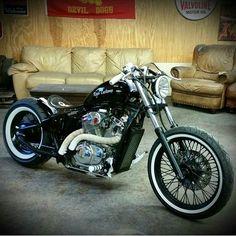 Honda Shadow | Bobber Inspiration - Bobbers and Custom Motorcycles July 2014