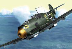 Les avions de la Seconde Guerre Mondiale - Messerschmitt Bf 109