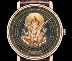 Blancpain Makes A Hindu God Ganesh Themed Special Edition Timepiece