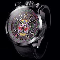 BOMBERG BOLT-68 Skull wristwatch