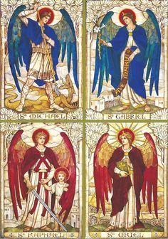 Invocazione di Protezione agli Arcangeli (dalla tradizione Ebraica) Possa Michael trovarsi alla mia destra, Gabriel alla mia sinistra,...