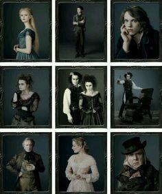 "~ † Tim Burton""s † Sweeney Todd Cast † The Demon Barber Of Fleet Street ~"
