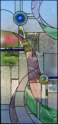 .love all the textures #StainedGlassPanels
