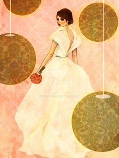 bridal fashion illustration - Google Search