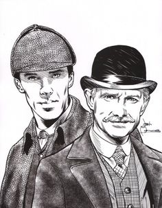 botanycameos: Gorgeous BBC Sherlock artwork by Josh Adams. (From IDW.)Saw an auction for that print and thought I'd share the link: (x) Sherlock Holmes, Sherlock Mary, Sherlock Fandom, Jim Moriarty, Benedict Cumberbatch, Tv Static, The Imitation Game, Benedict And Martin, Mrs Hudson