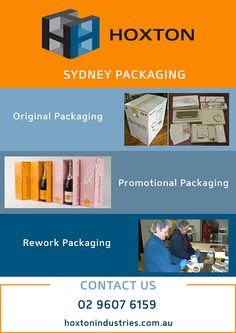 Hoxton solves your Sydney packaging headaches. #SydneyPackaging #Packagingsolutions