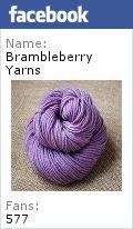 Yarn Along: August 3 | Brambleberries in the Rain