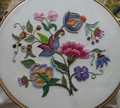 Marvelous Crewel Embroidery Long Short Soft Shading In Colors Ideas. Enchanting Crewel Embroidery Long Short Soft Shading In Colors Ideas. Crewel Embroidery, Embroidery Needles, Ribbon Embroidery, Embroidery Patterns, Eyebrow Embroidery, Embroidery Tattoo, Embroidery Hoops, Embroidery Supplies, Machine Embroidery
