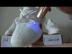 """Comparison Final VS Old Version CP9366 Yeezy Boost 350 V2 """"Cream White"""" ..."""