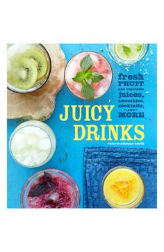 Valerie Aikman-Smith 'Juicy Drinks' Recipe Book | #Nordstrom
