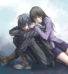 Find images and videos about noragami, yato and hiyori on We Heart It - the app to get lost in what you love. Anime Noragami, Anime Naruto, Noragami Bishamon, Yato And Hiyori, Fanarts Anime, Anime Guys, Anime Characters, Manga Anime, Haikyuu Anime