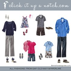 family photos what to wear | Looking for ideas on what to wear in family photos? Remember, you want ...