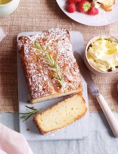Orange and rosemary cake - Sainsbury's Magazine