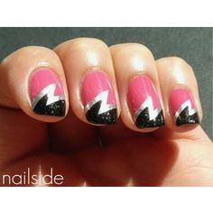 I'd feel like Supergirl, zapping people with my nails!